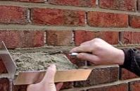Затирка швов плитки под «кирпич» или «камень»