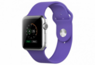 Ремешок Grand для смарт-часов Apple Watch 42 мм Sport Purple (AL992)