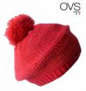 Берет деми еврозима темнокрасный с люрексом, бренд «OVS» (Италия)
