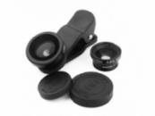 Портативная съёмная оптика Universal Clip Lens 3 в 1 для apple iPhone/iPad