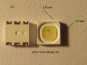 Светодиоды SMD 5050 3V