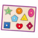 Пазл-вкладыш «Формы» Viga toys (50015)