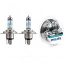 Галогенная лампа Philips H4 X-tremeVision +130% 12V 12342XVS2 (2шт.)