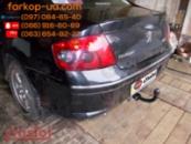 Тягово-сцепное устройство (фаркоп) Peugeot 407 (sedan) (2004-2008)