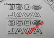 ОРИГИНАЛЬНЫЕ НАКЛЕЙКИ ЯВА/JAWA 638/12V/Люкс (комплект) Made in Чехия