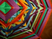 Мандала «Изгиб радуги»