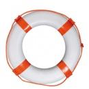 Круг спасательный диаметр 65х40мм красный