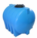 Купить горизонтальные пластиковые бочки для хранения воды на 1500 литров.