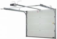 Приводы и автоматика AN-Motors для секционных гаражных ворот