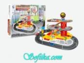 Парковочная станция + 5 машинок