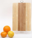 Доска разделочная «ЭКО-стиль» 30x20x1.2см, бамбуковая