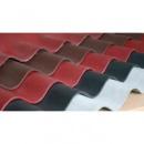 Шифер безасбестовый, волокнисто-цементный, 8-волновый, 1.75*1.15 м, коричневый, И-Франковск