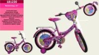 ВелосиВелосипед 2-х коліс 12« 181220 (1шт) з дзвпед 2-х коліс 12» 181217 (1шт) з дзвінком, дзеркалом,без ручного тормоза