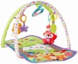 Fisher-Price 3-in-1 Musical Activity Gym Фишер Прайс Детский Развивающий Музыкальный Коврик