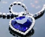 Красивая реплика ожерелья «Сердце океана»