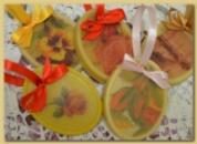 Восковая пластина «Весенний букет»