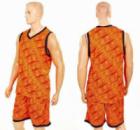 Форма баскетбольная мужская CAMO LD-8003-2 оранжевый