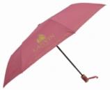 Зонт складной Calm Rain полуавтомат Малиновый (MR-515-12)