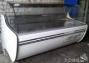 Б/у Продам холодильные витрины, морозильные витрины, кондитерские витрины длина от 1,0м до 2,0м