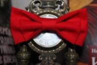 Краватка-метелик червона / галтук-бабочка красная двойная