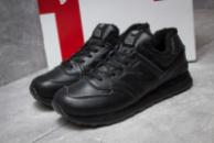 Зимние кроссовки New Balance 574, черные (30015) размеры в наличии ► [  45 46  ]