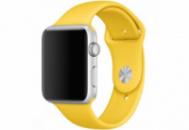 Ремешок Grand для смарт-часов Apple Watch 42 мм Sport Yellow (AL993)