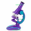 Микроскоп детский, увеличение 100х, 200х, 450х, электронная подсветка