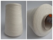 Пряжа FOLCO, белый молочный (50% меринос экстрафайн 50% антипиллинговый акрил , 44/2, 2200 м/100 г)