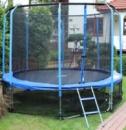Батут 14FT с защитной сеткой и лестницей диаметр 427 см
