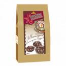 Песочное печенье с шоколадом в шоколадной глазури, 130г