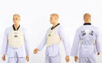 Защита корпуса детская(4-14 лет) для карате DAEDO DA-5384-W белая