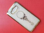 Силиконовый чехол с камушками для телефона Samsung J510