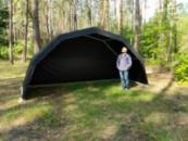 Аренда арочной палатки «VIKING» цвет черный, Для мероприятий, торговли, выставки, Киев