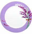 Набор 6 мелких тарелок «Лаванда» Ø23см