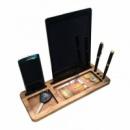 Подставка для телефона и планшета из дерева Порядок