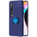 TPU чехол Deen ColorRing под магнитный держатель (opp) для Xiaomi Mi 10 / Mi 10 Pro Синий / Синий