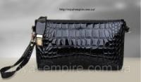 Клатч - кошелек «Кенни» искусственная кожа высокого качества, черный цвет.