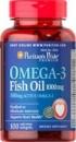 Рыбий жир Puritan's Pride Omega 3 (1000 мг) (100 softgel)