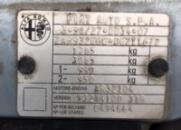 Дублирующие таблички (шильды) на авто ALFA ROMEO любой модели и кузова