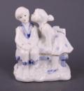 Фігурка декоративна «Закохані», 10 см