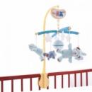 Музыкальный мобиль на детскую кроватку Biba Toys Счастливые мишки голубой