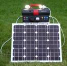 Солнечная туристическая электростанция S-50