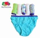 Трусики бикини для девочек подростков разноцветные трусы, бренд «Fruit of the Loom» (США)