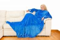Плед с рукавами «Blue sleepy»