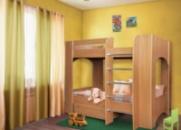 Детская двухярусная кровать Дуэт-2 ТМ Пехотин