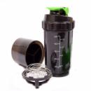 Шейкер SPIDER 500 мл (1223) Черно-зеленый