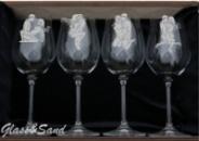 Бокалы для вина Bohemia « Камасутра»
