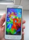 Смартфон Samsung S 5 White (экран 4,5« Android 4, 2sim) + чехол!