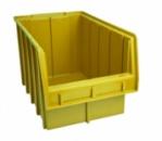 Ящики для метизов пластиковые желтые Арт. 700 Ж/ящик для крепежа,стеллажи для крепежа,ящик для мелочей