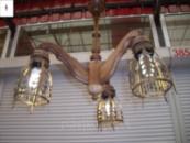 Лампа кованая